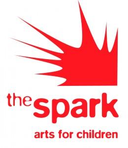 spark arts for children LOGO red